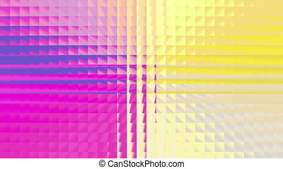 abstract colorful square pattern 4K
