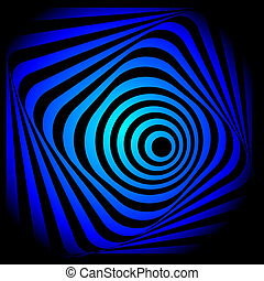 Abstract colorful swirl image. Concept of hurricane, twister...