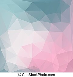 Abstract colorful triangles background