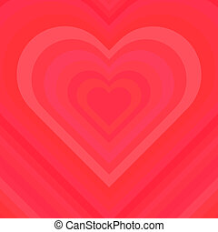 Abstract Colorful Valentine Background. Vector