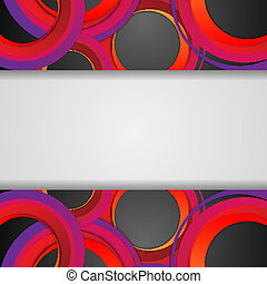 vector background with  copy space