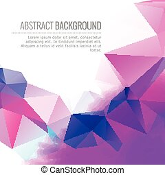 abstract colorful vector design background