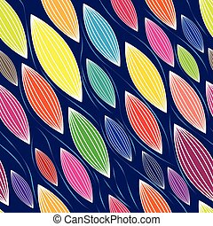 Abstract colorful vector, seamless background