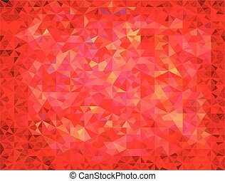 Abstract colorful vector triangles