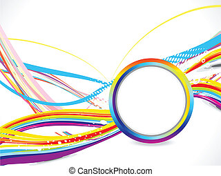 abstract colorful wace background