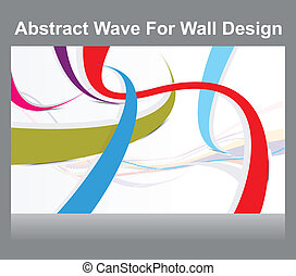 abstract colorful wall  background
