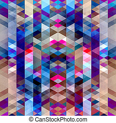 Abstract bright colorful watercolor background with polygons