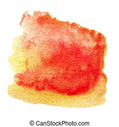 Abstract colorful watercolor for background. Aquarelle texture for your design