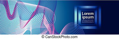 Abstract Colorful Waves Waved Lines Background