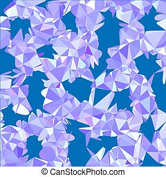Abstract colorfull triangular pattern. Polygonal gradient background