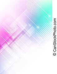 Abstract colors background with geometric shapes