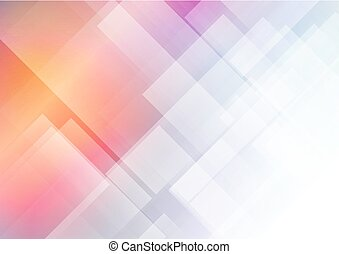 Abstract colors with geometric shapes