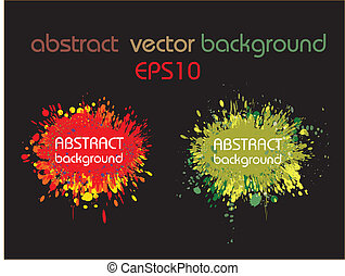Abstract colourful vector background