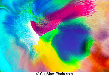 Abstract colours background