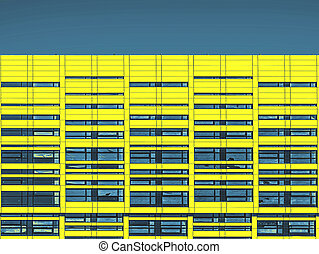 abstract commercial architecture, closeup (PShop)