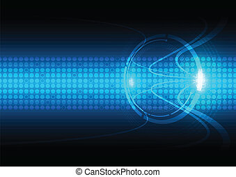 abstract communication technology background