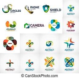 Abstract company logo collection - Abstract company logo...
