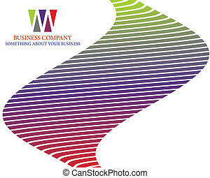 company page - Abstract company page background for business...