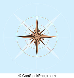 Abstract compass design