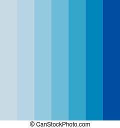 Abstract conceptual background of rectangles in different shades of blue. Halftone effect. Color palette. Vector illustration.
