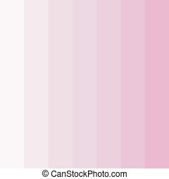 Abstract conceptual background of rectangles in different shades of pink. Halftone effect. Color palette. Vector illustration.