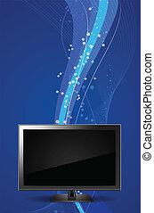 TV Monitor Vector Illustration