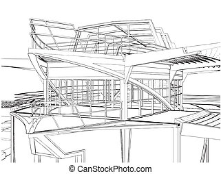 Abstract Construction Of The Ship