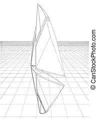 Abstract Constructions Of Sail Vector