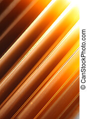 Abstract copper background