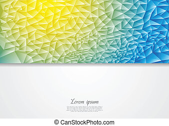 Abstract corporate vector design illustration