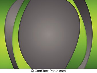 Abstract corporate wavy background