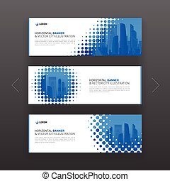 Abstract corporate web banner, slideshow template - Abstract...