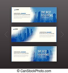 Abstract corporate web site slideshow template. - Abstract...