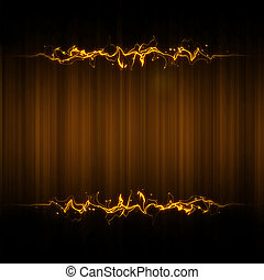 Abstract cover light background