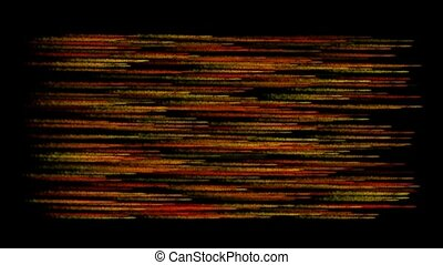 abstract crayon parallel streak