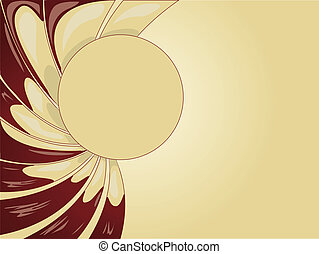 Abstract creamy background - Abstract soft yellow creamy...