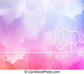 Abstract creative concept line draw background for web, mobile app, illustration template design, business infographic, page, brochure, banner, presentation, poster, cover, booklet, document.