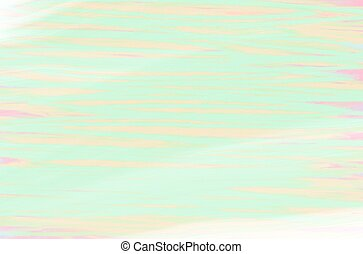 Abstract creative painted background, light green lines