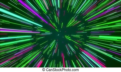 """""""Abstract creative space green background"""""""