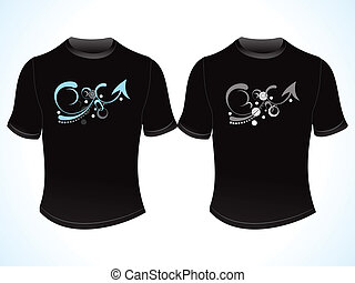 abstract creative tshirt design