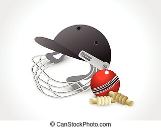abstract cricket elements