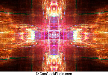 Abstract cross deisgn