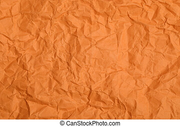 Abstract crumpled paper