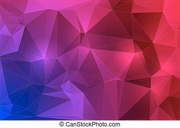 Abstract crystal background. Vector illustration Eps 10