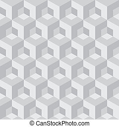 abstract cube pattern - abstract cube seamless pattern
