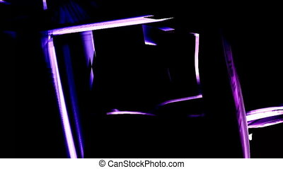 abstract cubic background 1