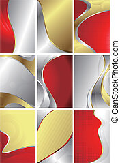 Abstract Curve Background - Illustration of abstract curve...