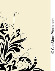 Abstract curve background for desig