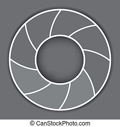 Abstract Curve Gray Background10