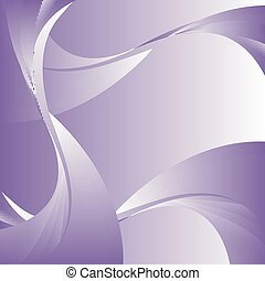 Abstract curve purple background